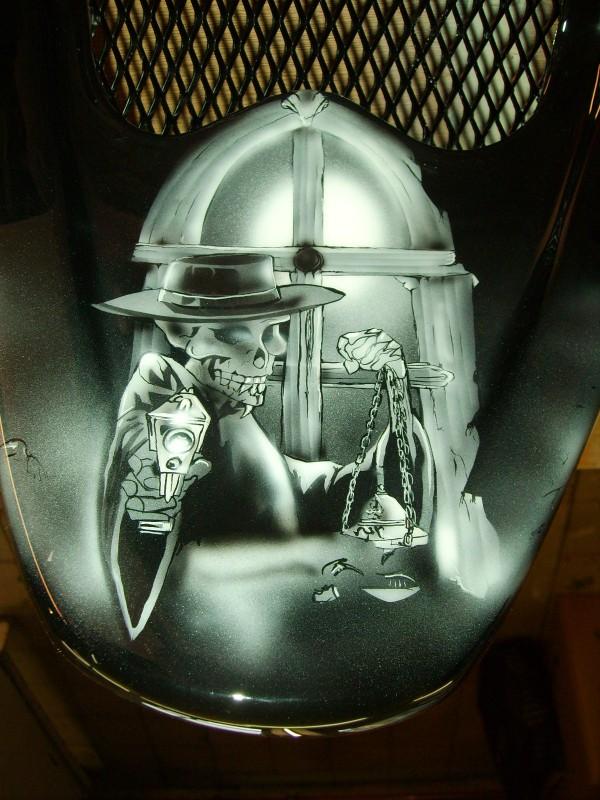 Hat Stand Designs : Airbrush motive und beispiele motorradhelme tankdeckel